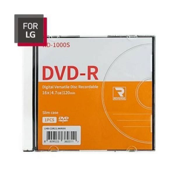 LG DVD-R 1P 상품이미지