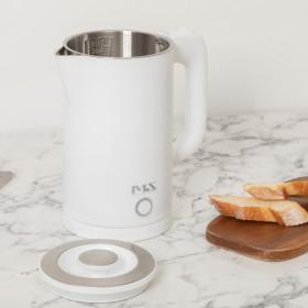 무선 전기 포트 주전자 커피 포트 화이트 MS0422-HW