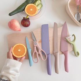 공유 논스틱 주방용 칼 식칼 세트 6종 가위 감자칼