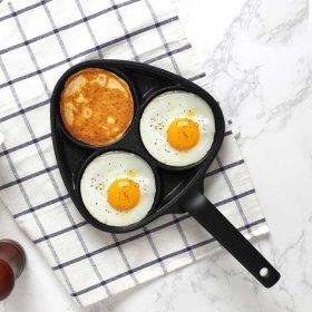 플러스 3구 에그팬 / 계란후라이팬