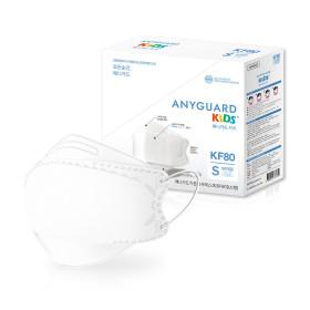 KF80 황사 미세먼지 어린이마스크 소형 흰색 개별 50매