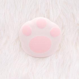 고양이 충전식 휴대용 손난로 보조배터리 핫팩 핑크