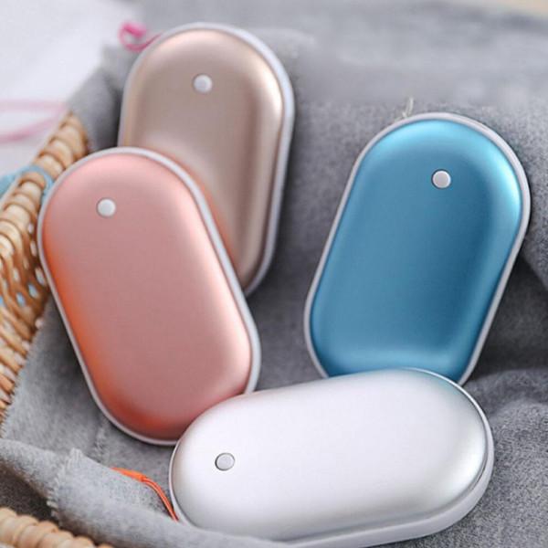 손난로 보조배터리 핑크 휴대용 USB 핫팩 충전식 상품이미지
