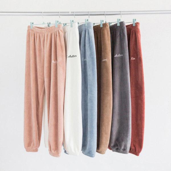 극세사 심플 잠옷(바지) 홈웨어 수면바지 파자마 XXL 상품이미지