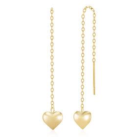 14K/GOLD/Drop Earring