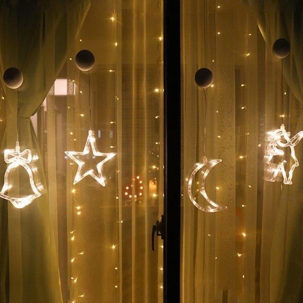 크리스마스 장식 큐방 윈도우 LED 조명 무드등 9종 상품이미지
