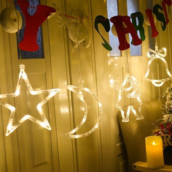 크리스마스 장식 윈도우 LED 조명 무드등 (랜덤발송) 상품이미지