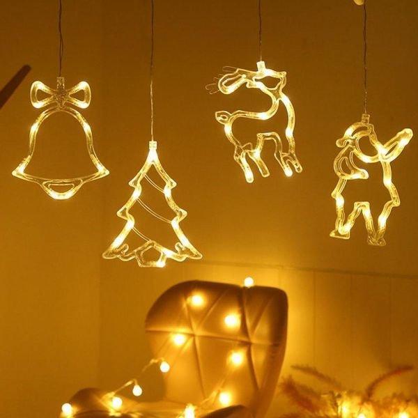 5종세트 크리스마스 트리 전구 무드등 조명 소품 상품이미지
