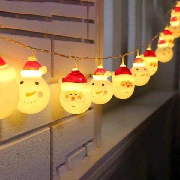 1+1 집드리 눈사람 산타 전구 크리스마스 트리 무드등 상품이미지