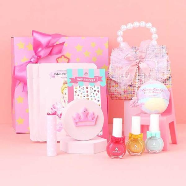 피치앤드  어린이화장품 선물세트 III+핑크가방 세트 상품이미지
