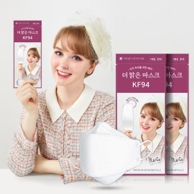 KF94 Made in Korea Mask 100pcs KFDA certified Non-medicinal Product Individual packaging