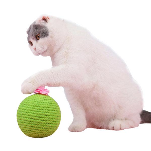묘심 선인장볼 고양이 공장난감 캣닢볼 상품이미지