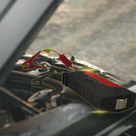 FYC 휴대용 차량용 자동차 점프스타터 점프앤고 레드