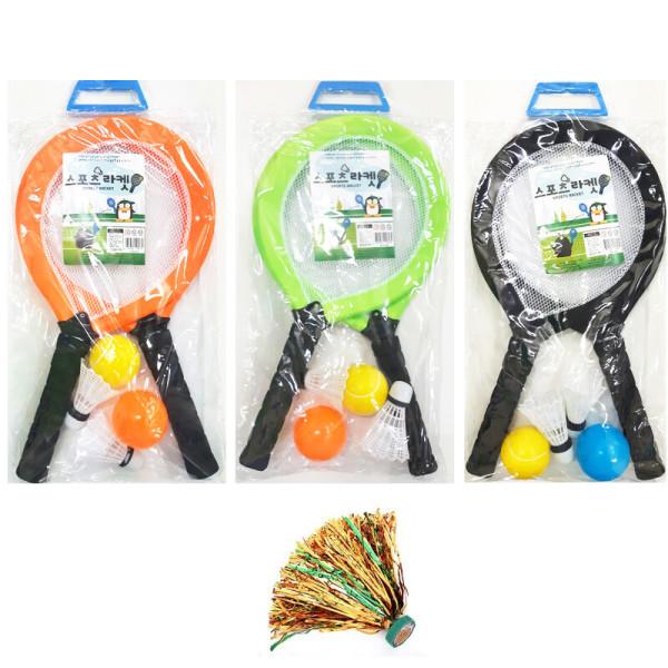 어린이 운동 배드민턴 테니스 정구 스포츠 라켓 채 상품이미지