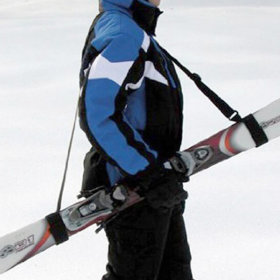 스키 스노우보드 부츠 숄더 스트랩 캐리어 (스키용)