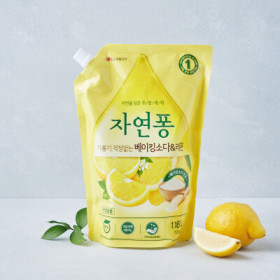 LG)자연퐁베이킹소다 레몬1.2KG