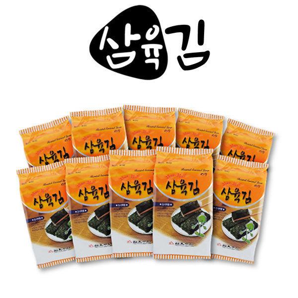 삼육김 재래 미니 도시락김/10봉X24팩(총240봉) 상품이미지