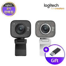 로지텍코리아 스트림캠 웹캠 Stream Cam 삼각대 증정