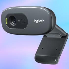 로지텍코리아 C270 HD 웹캠 화상회의 자동조명 720P