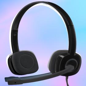 로지텍코리아 H151 헤드셋 스테레오 회전식 붐마이크