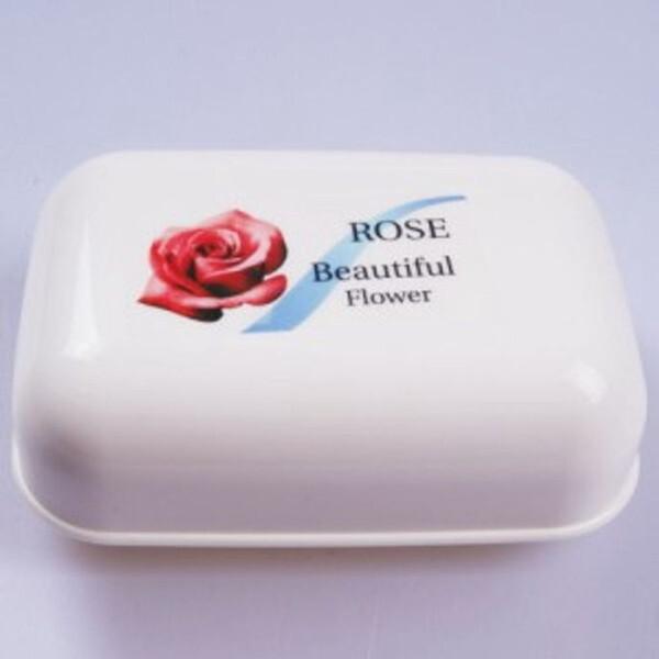 로즈 사각 비누각 욕실 비누받침대 비누케이스 상품이미지