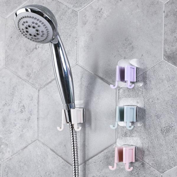 파워부착 샤워기 거치대/청소 도구/생활 욕실 용품 상품이미지