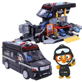 뽀로로변신특공대T(구급)/구급차/장난감자동차