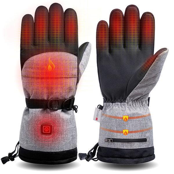 겨울 장갑USB발열 방한 장갑/발열 장갑 열선/스키장갑 상품이미지