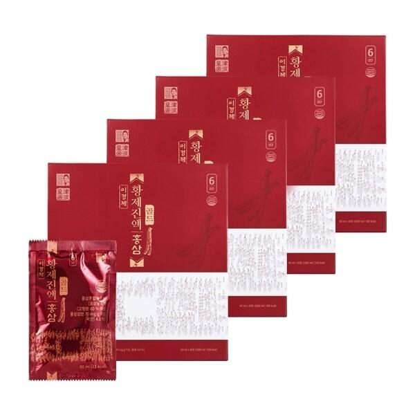 이경제 황제진액 홍삼 골드 30포 x 4박스 (총 120포) + 쇼핑백 4장 상품이미지