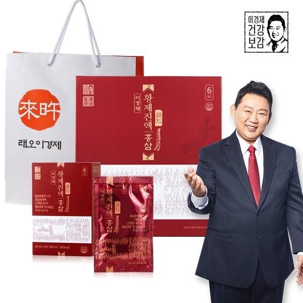 이경제 황제진액 홍삼 골드 30포 x 1박스 + 쇼핑백 1장 상품이미지