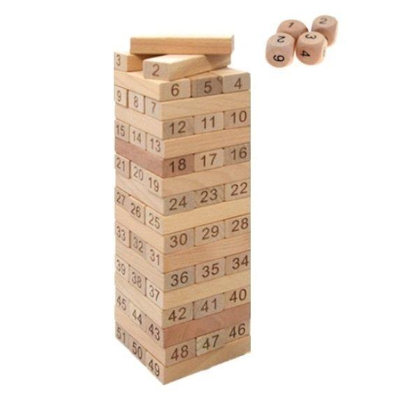 보드누리 원목젠가 51 보드게임 나무쌓기 한정수량 상품이미지