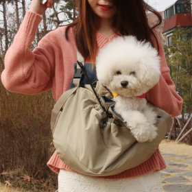 Pet carrier and bag apron walking front bag sling dog front bag swaddling mobile bag multip