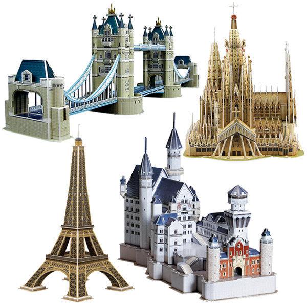 뜯어만드는세상 에펠탑/타워브리지/종이모형/입체퍼즐 상품이미지