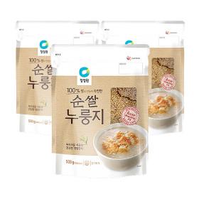 종가집 순쌀 누룽지 500g  3개