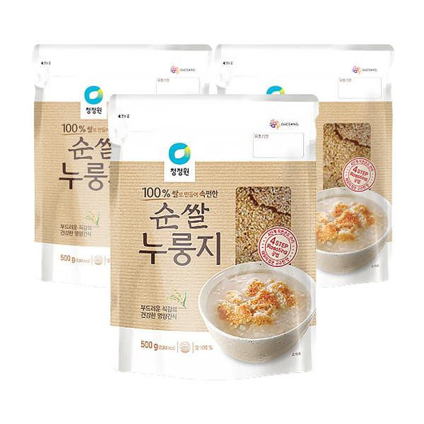 종가집 우리쌀 누룽지 500g  3개 상품이미지