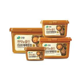 짠맛을 줄인건강한 재래된장 혼합(2kg+1kg+500g)