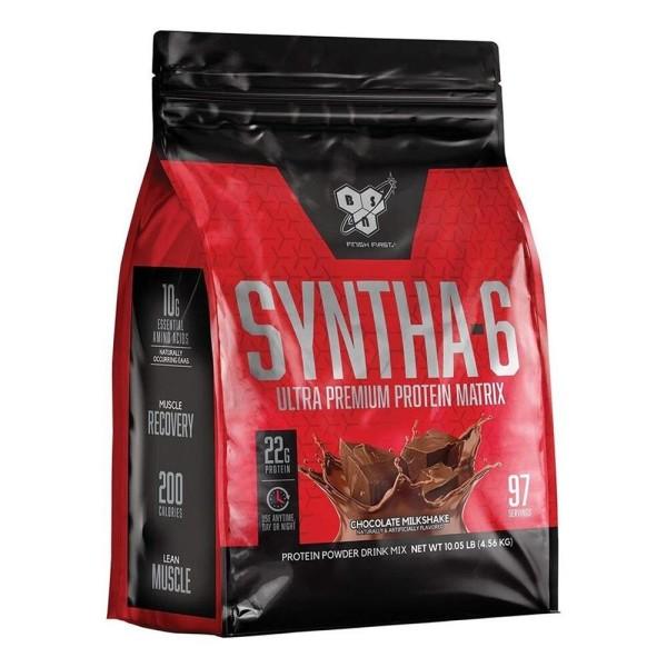 신타6 오리지널 초콜릿 밀크쉐이크 프로틴 파우더 97 서빙 유청 단백질 보충제 4.56 kg 빠른직구 상품이미지