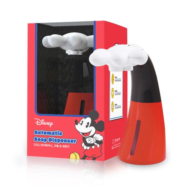 미키마우스 자동 손세정기 + 세정액 세트 디스펜서 상품이미지
