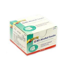 백톤디킨즈 BD 알콜솜(소독솜) 1BOX(100매) 알콜스왑