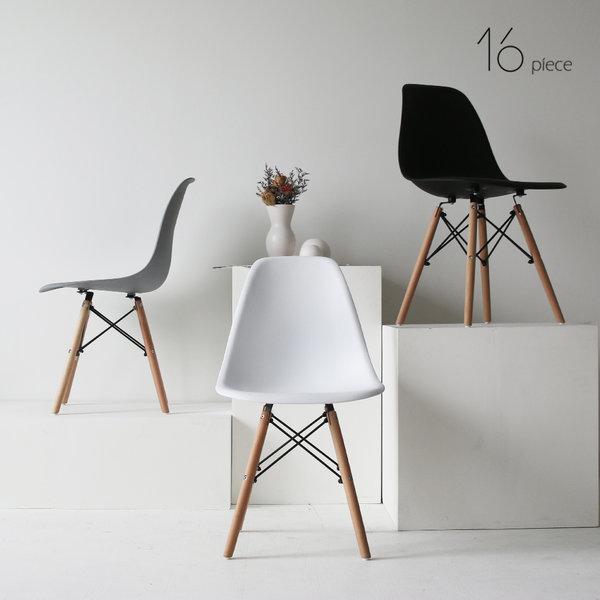 16피스 에펠 체어 카페 식탁 인테리어 디자인 의자 멜 상품이미지