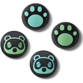 닌텐도 스위치 모여봐요 동물의 숲 에디션 조이콘 너구리 스틱커버 색상 2종 ND-207