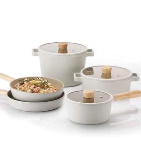 FIKA IH induction pot frying pan 5 kinds pot set