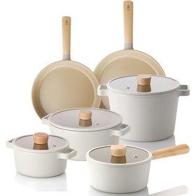 FIKA IH induction pot frying pan 7 kinds pot set