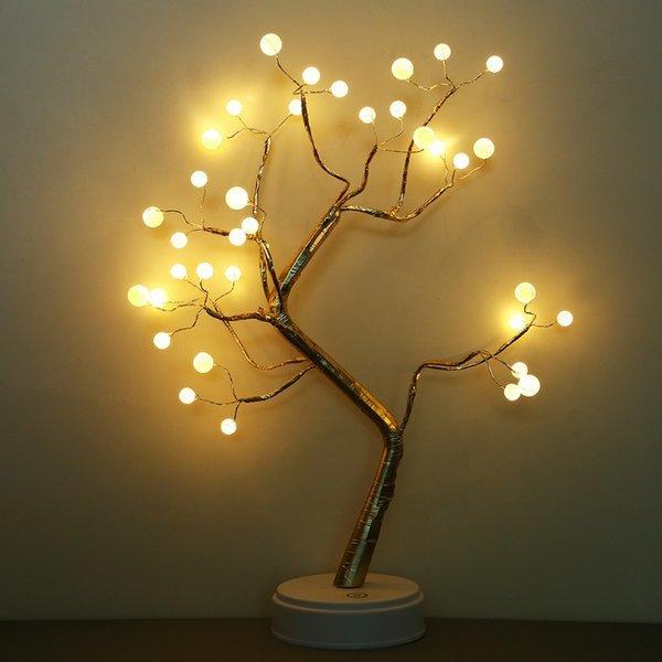 LED 인테리어 트리모양 침실 스탠드 무드등 상품이미지