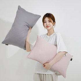 세탁이 가능 항균솜 편백 경추목베개 워라벨 편백베개
