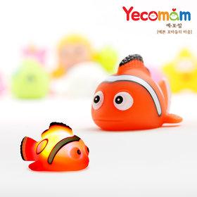 LED 아기목욕장난감 물놀이장난감 니모(오렌지)