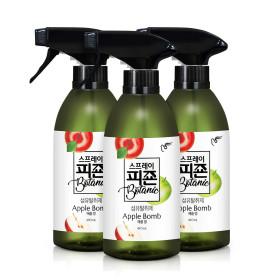 섬유탈취제 스프레이피죤 보타닉 490mlx3개 애플밤