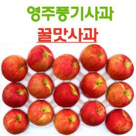 (영주풍기사과농장) [경상북도]영주풍기사과  10kg 24~26과 가정용 보조개 흠집사과