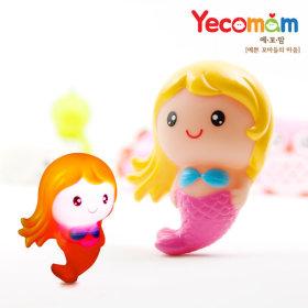 LED 아기물놀이장난감 물놀이용품 인어공주(핑크)
