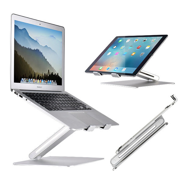 OMT 각도조절 알루미늄 노트북 태블릿거치대 ONA-AP2V 상품이미지